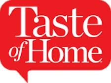 Taste of Home.com website