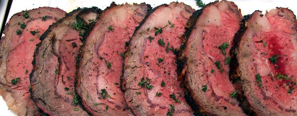Mustard-Peppercorn Rib Roast Recipe — Dishmaps